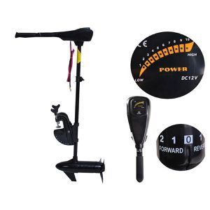 """Costway New 55lbs Freshwater Transom Mounted Trolling Motor 36"""" Shaft for Sale in Miami, FL"""
