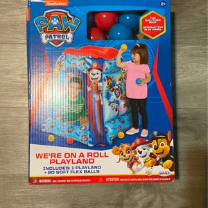 Paw Patrol Inflatable Play Land Ball Pit for Sale in Long Beach, CA