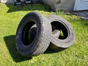 3-245/75/17 Goodyear Wranglers still in decent shape. All for $50 for Sale in Alpena, MI