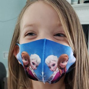 Hello Kitty Frozen Mask 2 x $5! for Sale in Moreno Valley, CA
