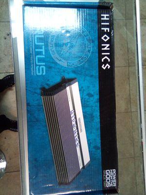Hifonics bx x2000.1d for Sale in Las Vegas, NV