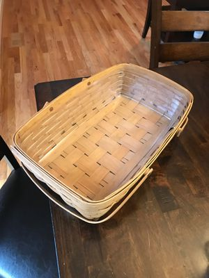 Longaberger basket for Sale in Edgewood, WA