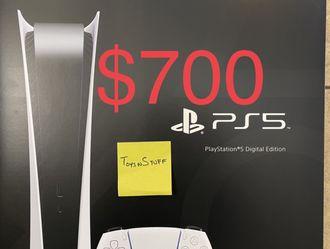 PlayStation 5 Digital Sealed Brand New for Sale in Goodyear,  AZ