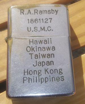 USMC Military Zippo Lighter for Sale in Montclair, CA