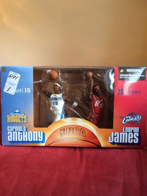 Carmelo/Lebron James collectable for Sale in Philadelphia, PA