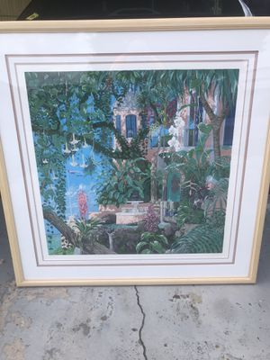 John kiraly hand signed limited # seriograf print for Sale in Holiday, FL