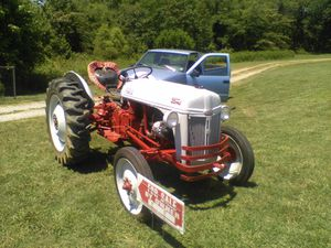 Ford 8N restored 1948 tractor new tires for Sale in Chester, VA