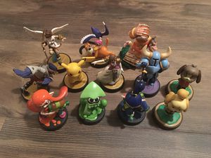 12 Nintendo Amiibo - Smash - Shovel - Zelda - Splatoon - Switch Wii U 3DS for Sale in Brentwood, CA