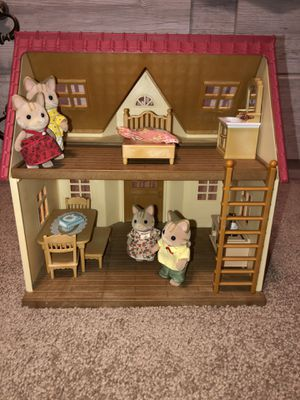 Calico Critters With accessories for Sale in Reedley, CA