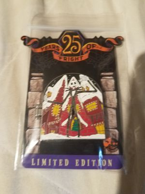 Nightmare Before Christmas 25 years of fright pin for Sale in Maitland, FL