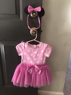 Minnie Mouse costume- infant size for Sale in San Diego, CA