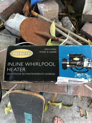 Heater for hot tub for Sale in Turlock, CA