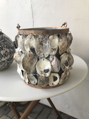 Oyster shell ice bucket for Sale in Fort Lauderdale, FL