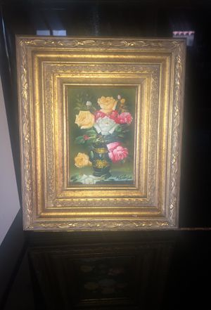 Painting signed by artist for Sale in Santa Monica, CA