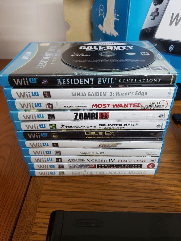 Nintendo wii U and 15 games