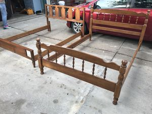 Two full size bed frames for Sale in Del Valle, TX