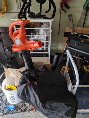 Black & Decker corded 3-in-1 vac pack for Sale in Clinton Township, MI