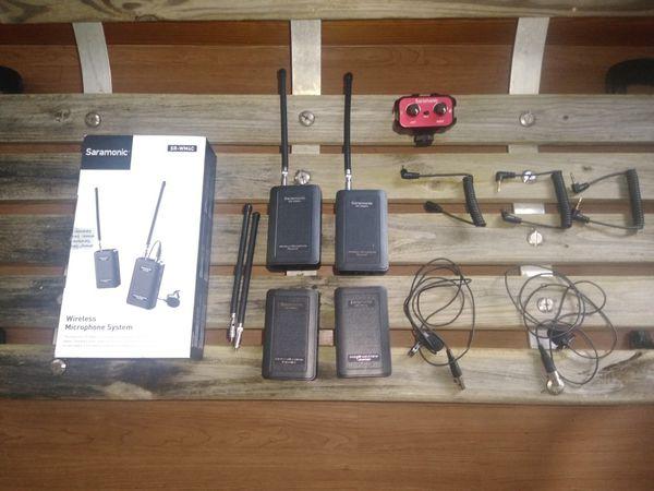 Saramonic wireless lav microphone system kit
