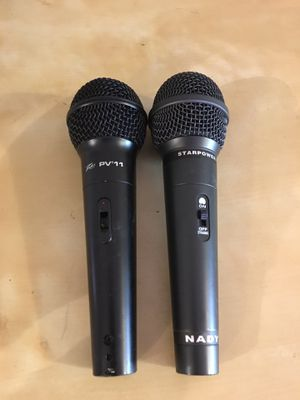 Two microphones for Sale in Portland, OR