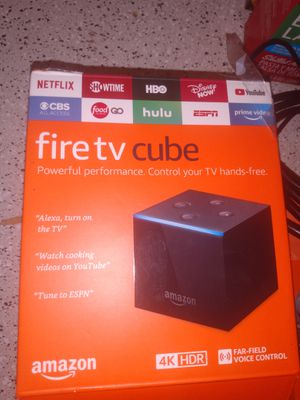 Fire TV cube for Sale in Houston, TX