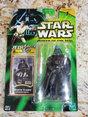 Star Wars POTJ Collection 1 Darth Vader (Emperor's Wrath) Action Figure 2000 for Sale in Chicago Heights, IL