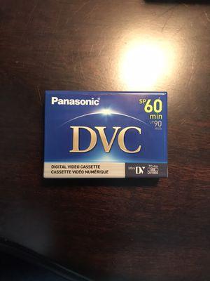 Panasonic DVC (Digital Video Cassette) for Sale in Loxahatchee, FL