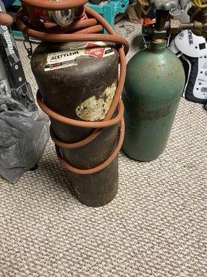 Acetylene big oxígen small for Sale in Silver Spring, MD