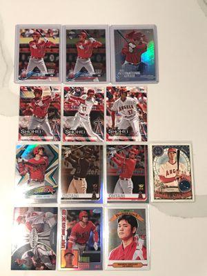 Shohei Ohtani Baseball Cards Rookie Rc for Sale in Covina, CA