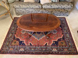 Ethan Allen Sofa, Coffee Table, Painting, high end rug for Sale in Dania Beach, FL