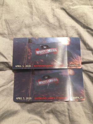 Wrestlemania 36 for Sale in Ocala, FL