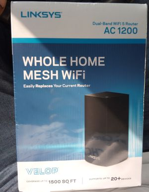 Linksys Whole Home Mesh Wifi Ac1200 for Sale in Houston, TX