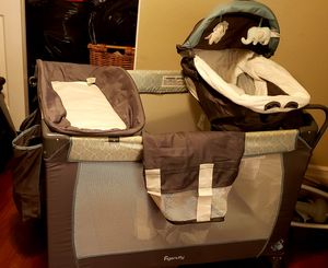 BRAND NEW! INGENUITY BABY PLAYARD W/ BASSINET & CHANGING TABLE for Sale in Riverside, CA