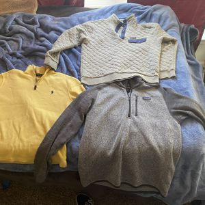 Polo / Patagonia Sweatshirts Size Large for Sale in Norman, OK