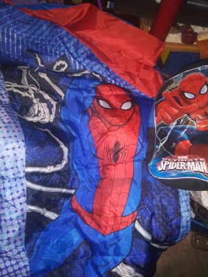 Spiderman backpack and sleeping bag for Sale in Modesto, CA