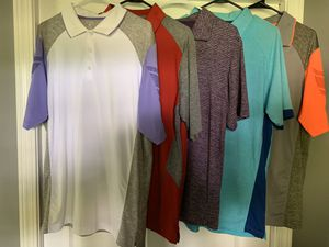 Golf shirts golf shirts size L for Sale in Cadwell, GA