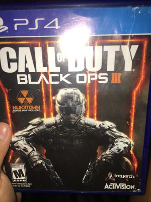 Call of Duty Black Ops 3 for Sale in Modesto, CA