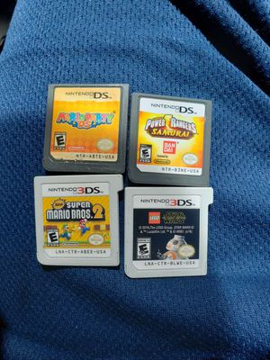 3ds ds games for Sale in Bakersfield, CA