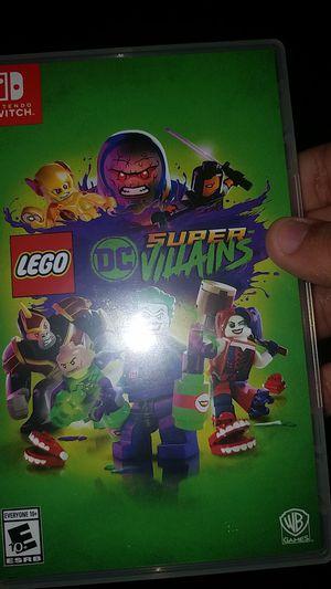 Lego DC super villains (Nintendo Switch) for Sale in Alexandria, VA