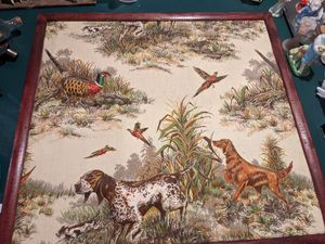 """Vintage Fabric 3D Hunting Picture, 26.75"""" x 28.75"""" for Sale in Swatara, PA"""