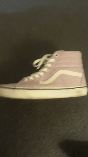 Used but worn once! Size 7 women Vans for Sale in Hacienda Heights, CA