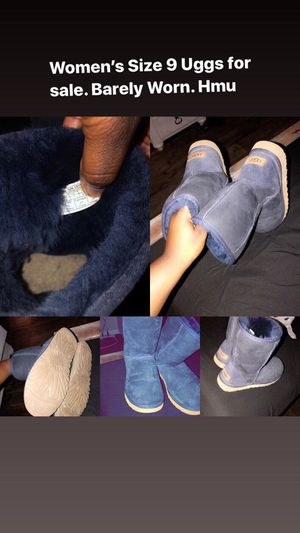 Navy Blue Uggs for Sale in Raleigh, NC