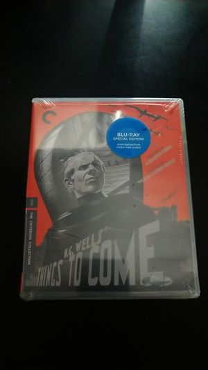 Criterion bluray things to come for Sale in San Diego, CA
