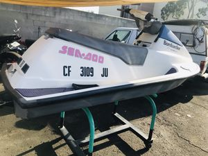 Seadoo bombardier 2 stroke jet ski for Sale in Santa Monica, CA