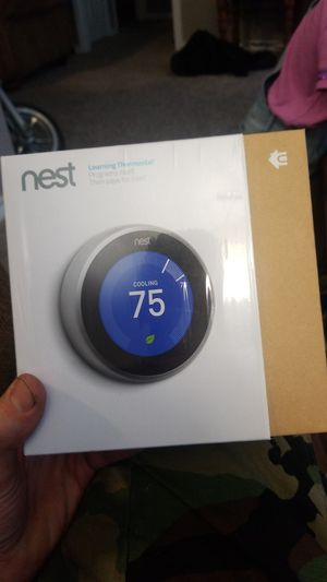 New, open box. Nest thermostat for Sale in River Oaks, TX