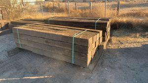 Railroad Ties for Sale in Oro Grande, CA