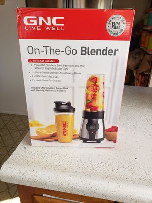 GNC on the go blender for Sale in South Gate, CA