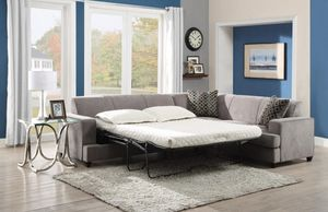 Just $50 down - New Tess sleeper sofa sectional w/ mattress for Sale in Miami, FL