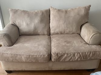 Set of 2 Suede Couches for Sale in Atlanta,  GA