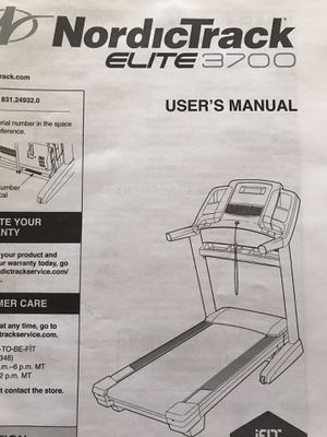 NordicTrack Elite 3700 Treadmill for Sale in Avondale, AZ