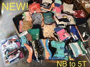 New Baby & Kids Clothes NB to 5T for Sale in Long Beach, CA